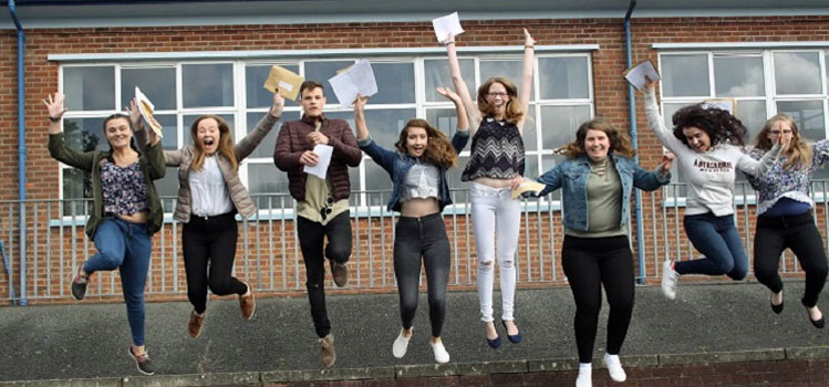 Pupils getting results