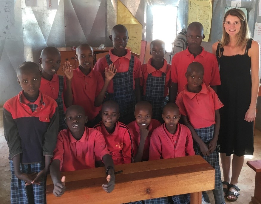 Kenyan primary school pupil group