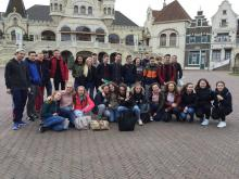 Pupils participating in the Dutch exchange trip