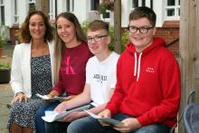 Ballyclare High School GCSE results with Dr Michelle Rainey