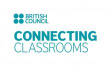 British Council and Connecting Classrooms logos