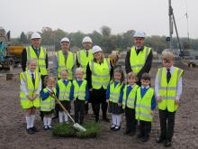 Enniskillen Model Primary School new building - start of construction