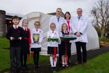 Growing Science project at Irish Society Primary School and Nursery Unit