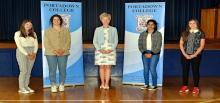 Portadown College GCSE results day 2020