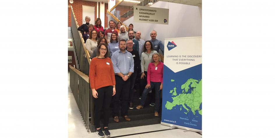 Controlled schools and CSSC staff on Erasmus+ visit to Finland