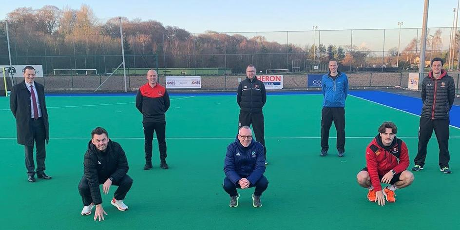 Banbridge Academy All Hockey Coaches & Mark Tumilty